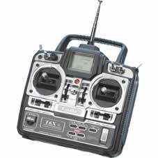Radiocomanda FF-6 (T-6X) 6/6/3 40MHz disponibila de la www.sierra.ro Cod F4061